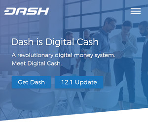 Trade Dash cryptocurrency